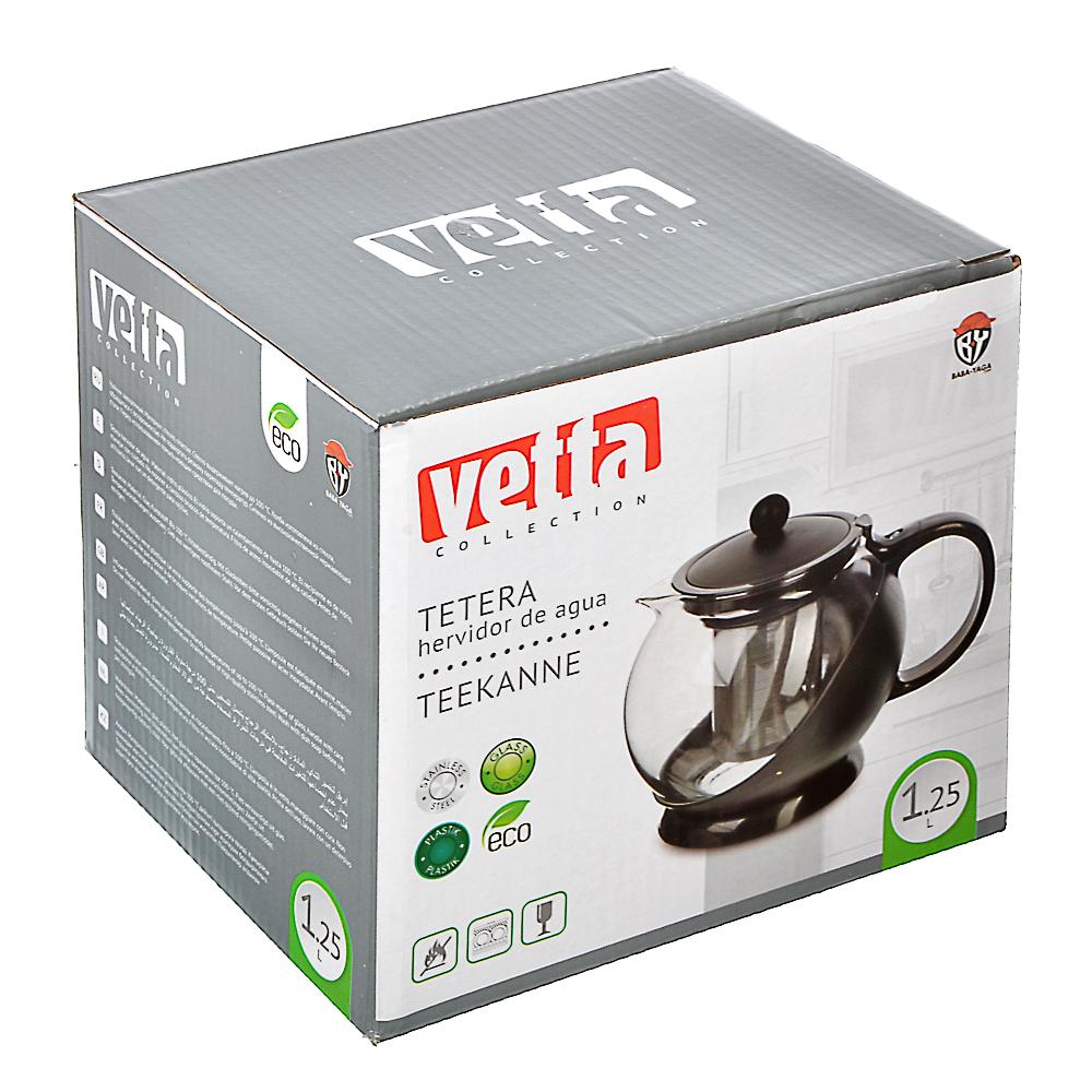 Чайник заварочный 1,25 л VETTA Дени, пластик - 3