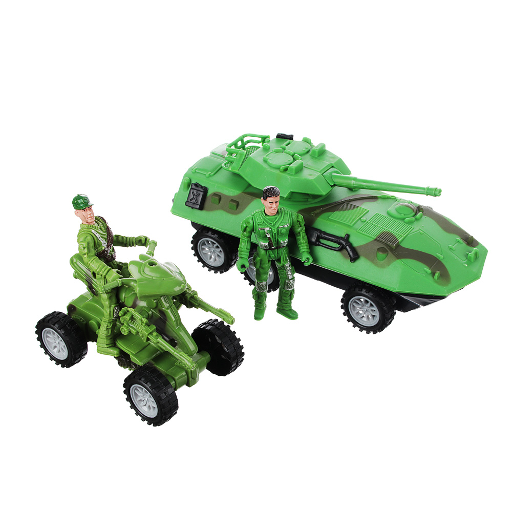 ИГРОЛЕНД Игровой набор Полицейская операция: авто-/авиа техника, металл, пластик, 27,5х10,5х25см - 2