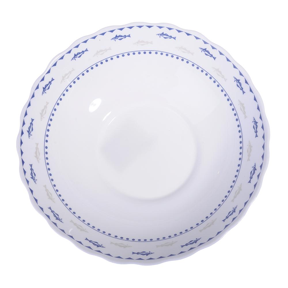 """Салатник, опаловое стекло, 227 мм, 1470 мл, MILLIMI """"Ванда"""" - 2"""