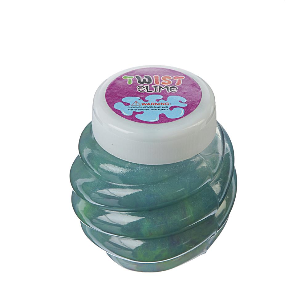 Слайм жидкий Трехцветный в баночке, полимер, 5х4см - 2