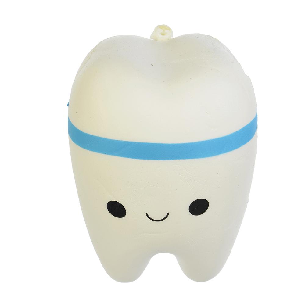 LASTIKS Игрушка-мялка с ароматом в виде Панды/Зубика, полиуретан, 7х8,5/10х7см, 2 дизайна, 4 цвета - 2