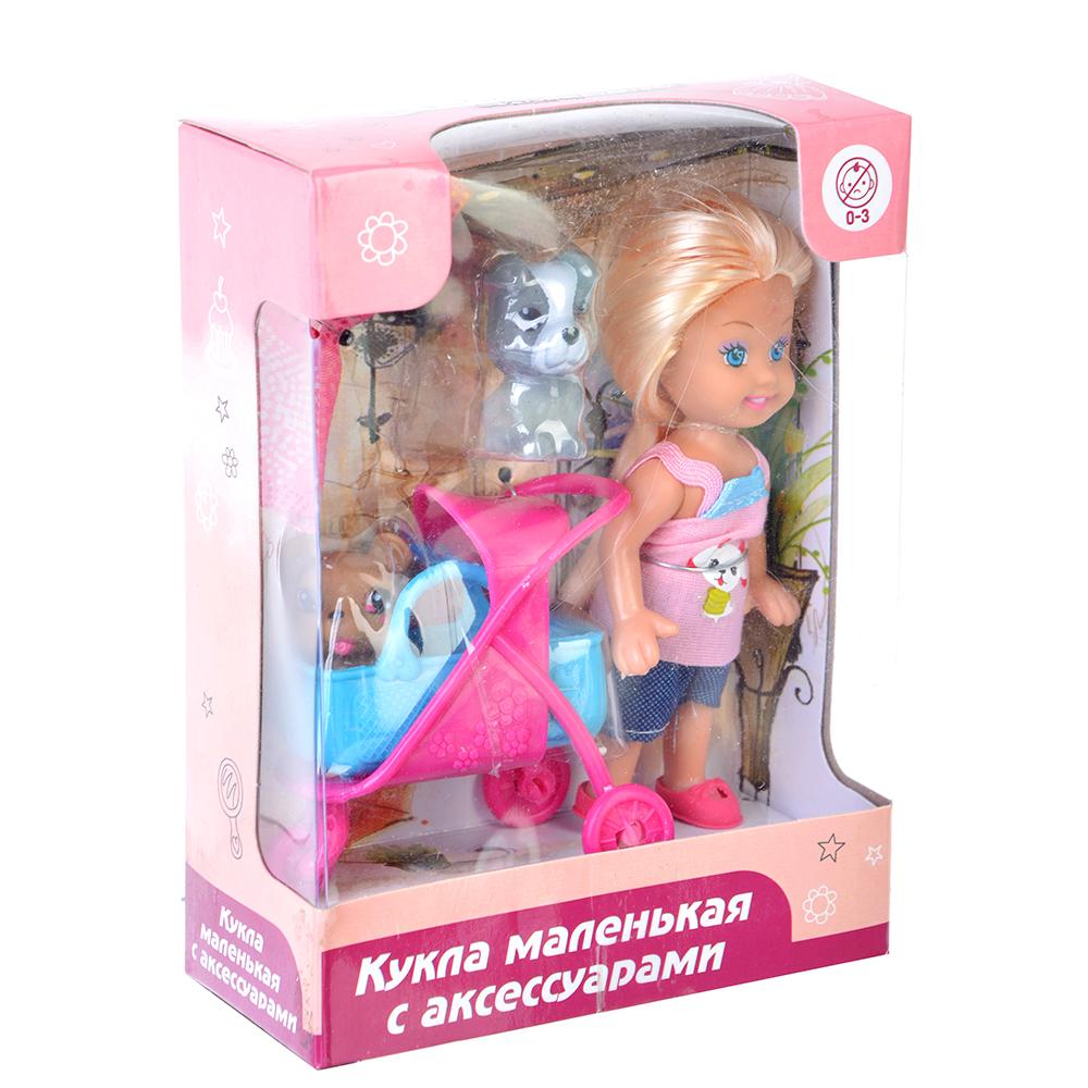 ИГРОЛЕНД Кукла маленькая с аксессуарами, пластик, полиэстер - 2