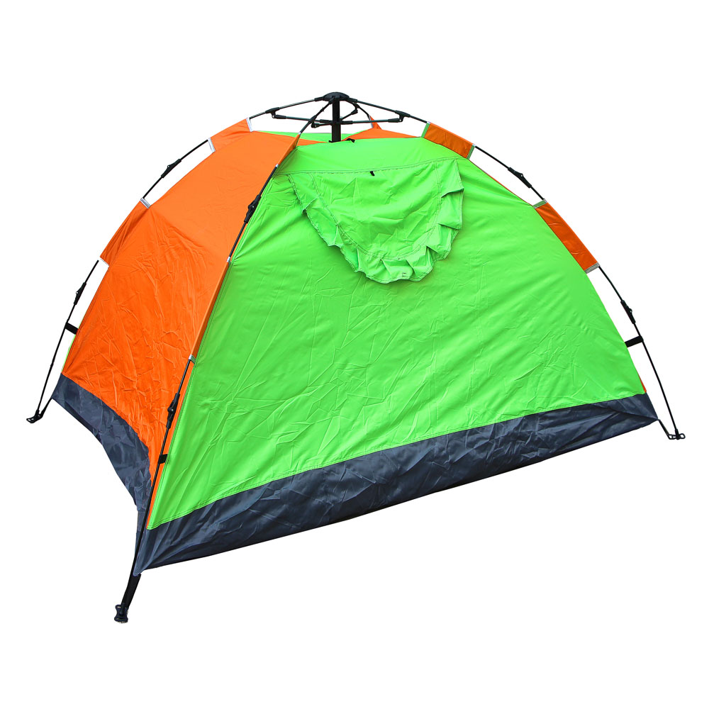 Палатка 4-местная ЧИНГИСХАН Автомат, 200х195х140см, нейлон 170T, дно оксфорд 150D - 3
