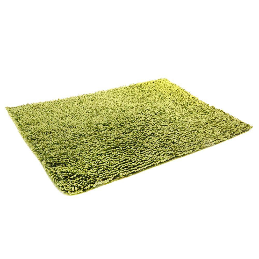 Коврик для ванной Петля 50х70см, хлопок, б/п, зеленый - 2