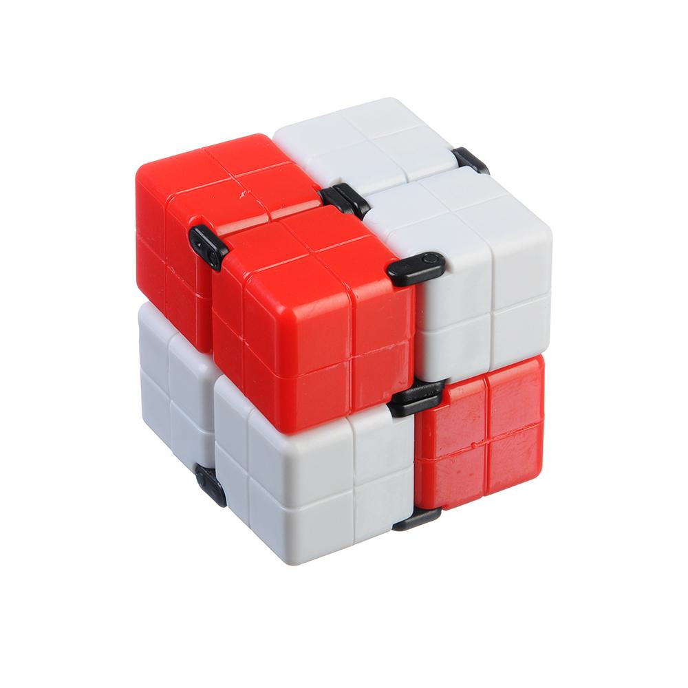 """Игрушка-антистресс """"Кубик-Бесконечность 360 градусов"""", пластик, 8х4х2см, 3-4 цвета - 2"""