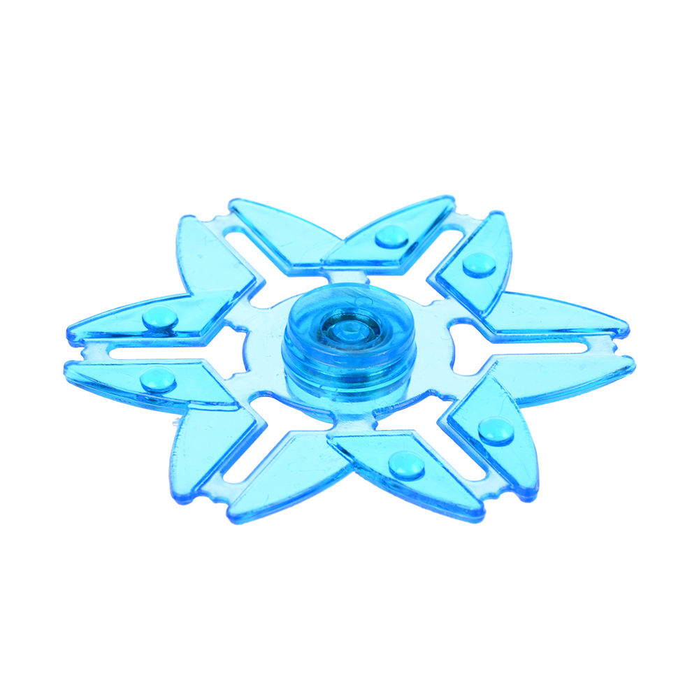 Игрушка-антистресс Спиннер, пластик, металл, 7,2х1х7,2см, 5-8 дизайнов - 2
