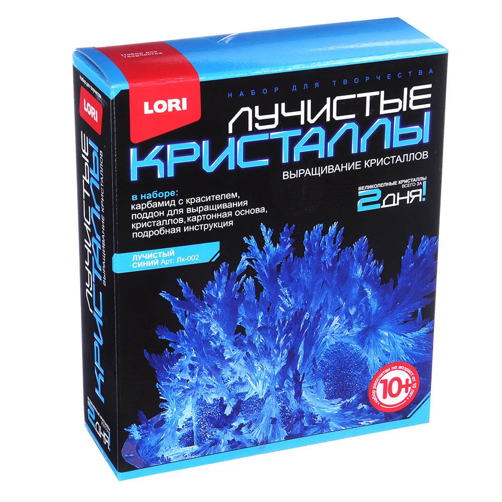 ЛОРИ Набор для выращивания кристаллов, хим.реактивы, 13,5х11,3х4см, 10+, 8 цветов - 2