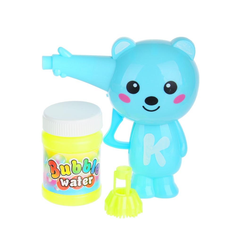 """Игрушка с мыльными пузырями механ. """"Веселые приятели"""", 40мл, мыл.раствор, пластик, 6 дизайнов - 2"""
