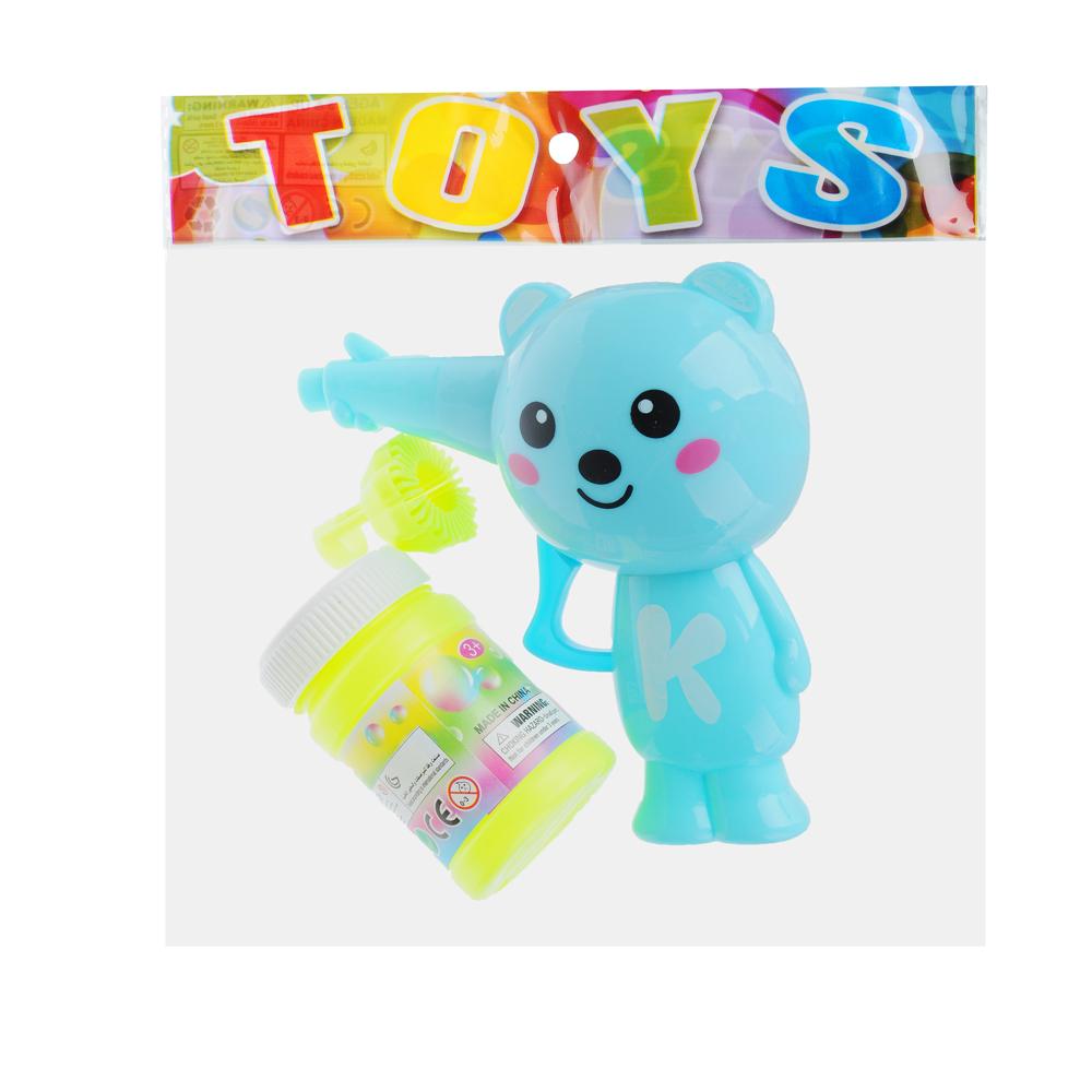 """Игрушка с мыльными пузырями механ. """"Веселые приятели"""", 40мл, мыл.раствор, пластик, 6 дизайнов - 3"""