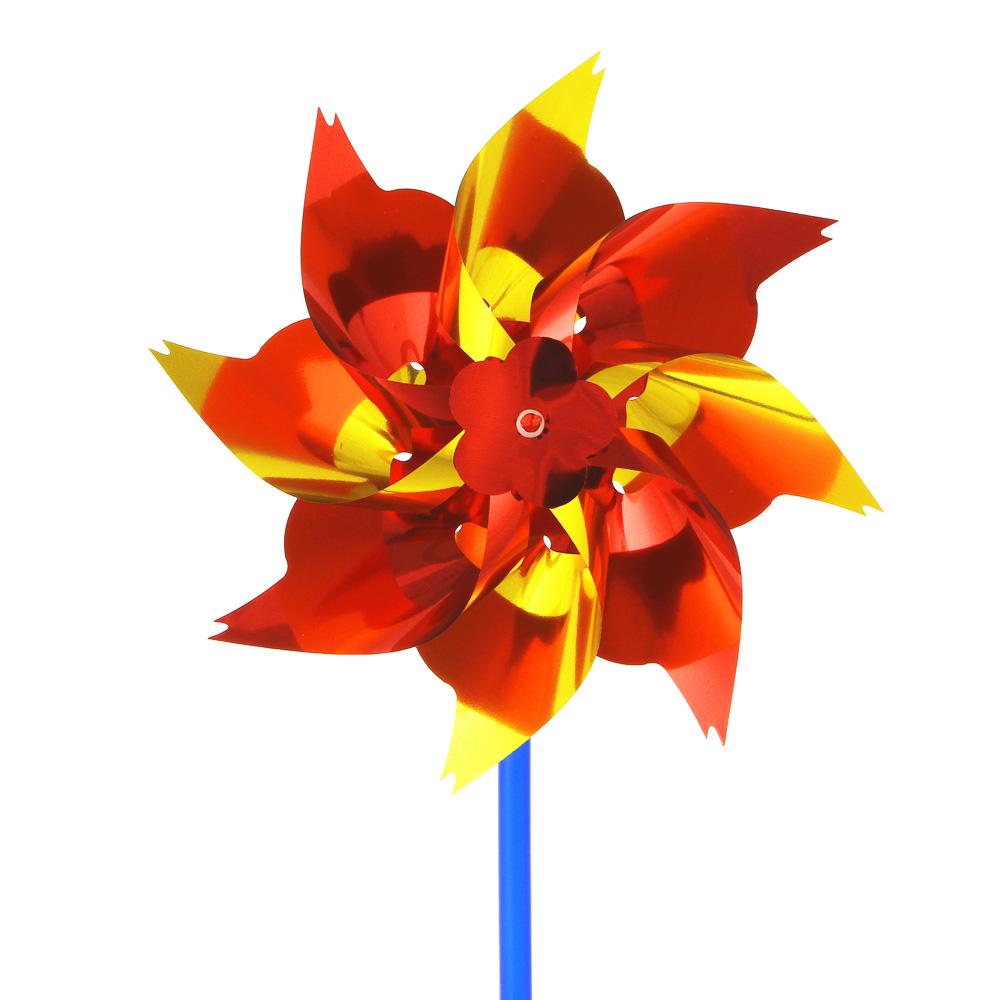 ИГРОЛЕНД Ветрячок детский, 14-16см, пластик, 27х17,5см, 2-4 цвета - 2