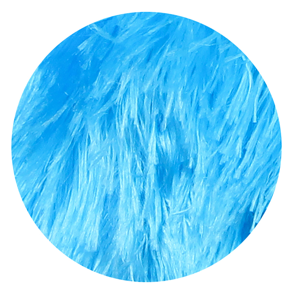 МЕШОК ПОДАРКОВ Мяч надувной Пушистик 21см, полиэстер, резина, 21,5х21,5см, 2 дизайна, 2-4 цвета - 3