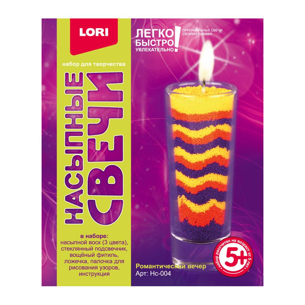 ЛОРИ Набор для изготовления свечи, воск, 6х6х9см, 5 дизайнов - 2