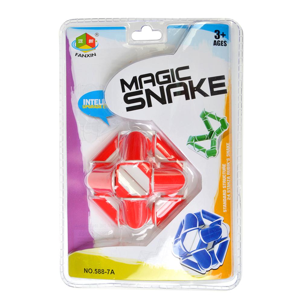 Головоломка Змейка, пластик, 13,6х6х19,5см, 4 дизайна - 2