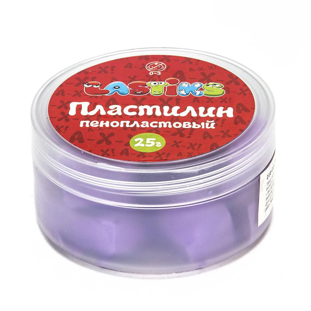 Пенопластовый пластилин, 25г , полимер, 9х9х4,5см, 6 цветов - 3