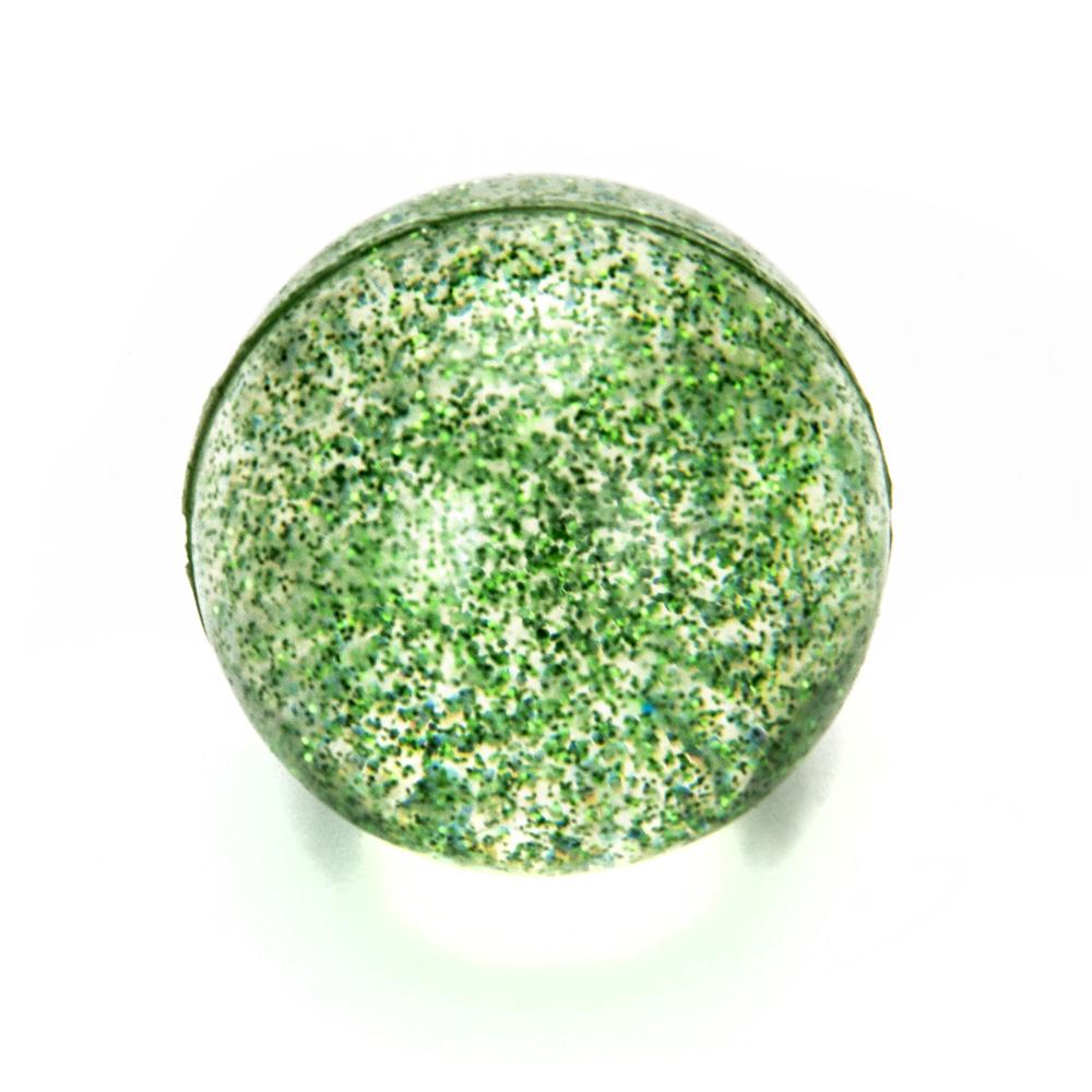 Мячик каучуковый Попрыгун с блестками, каучук, d-45мм - 2