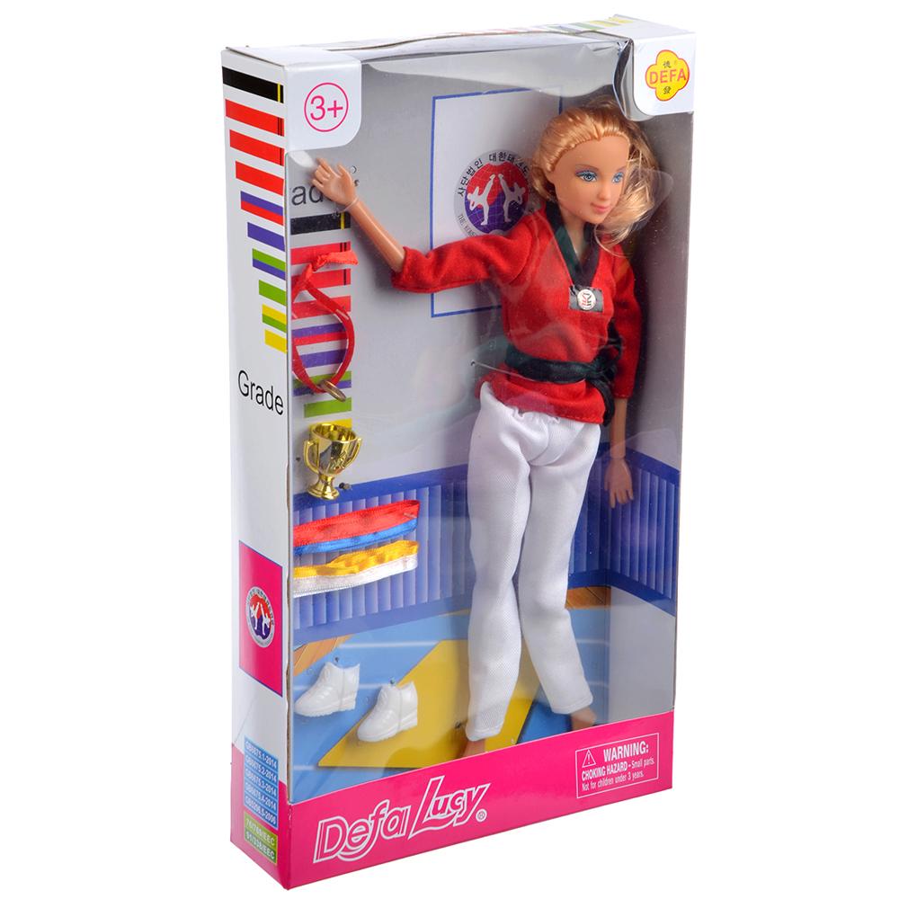 Кукла шарнирная 29см, пластик, полиэстер, 2 дизайна - 3