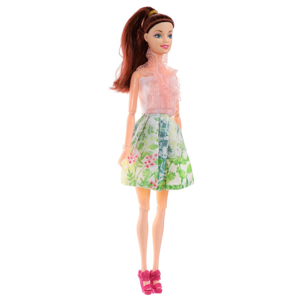 ИГРОЛЕНД Кукла в стильной одежде, шарнирная, 29см, PP,PVC, полиэстер, 6дизайнов - 4