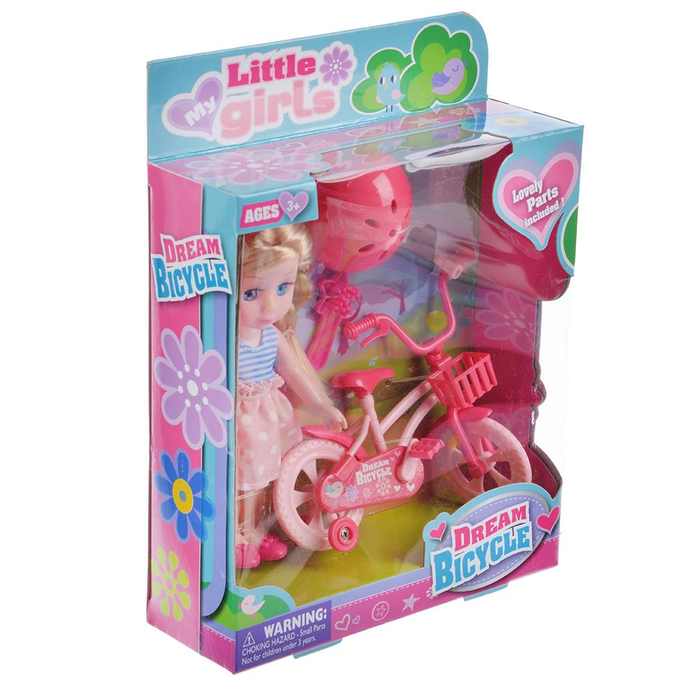 """Игровой набор кукла """"Классика"""", 22-24см, с аксессуарами, пластик, полиэстер, 2 дизайна - 2"""