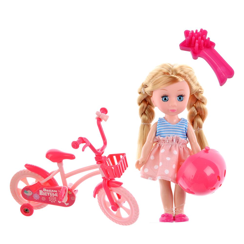 """Игровой набор кукла """"Классика"""", 22-24см, с аксессуарами, пластик, полиэстер, 2 дизайна - 3"""