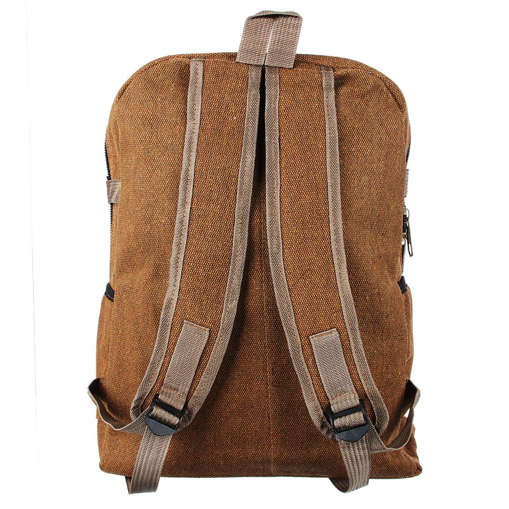 Рюкзак подростковый 41x31x15см, мягкий, 1 отдение на молнии, 4 кармана, металл, 2 цвета - 4