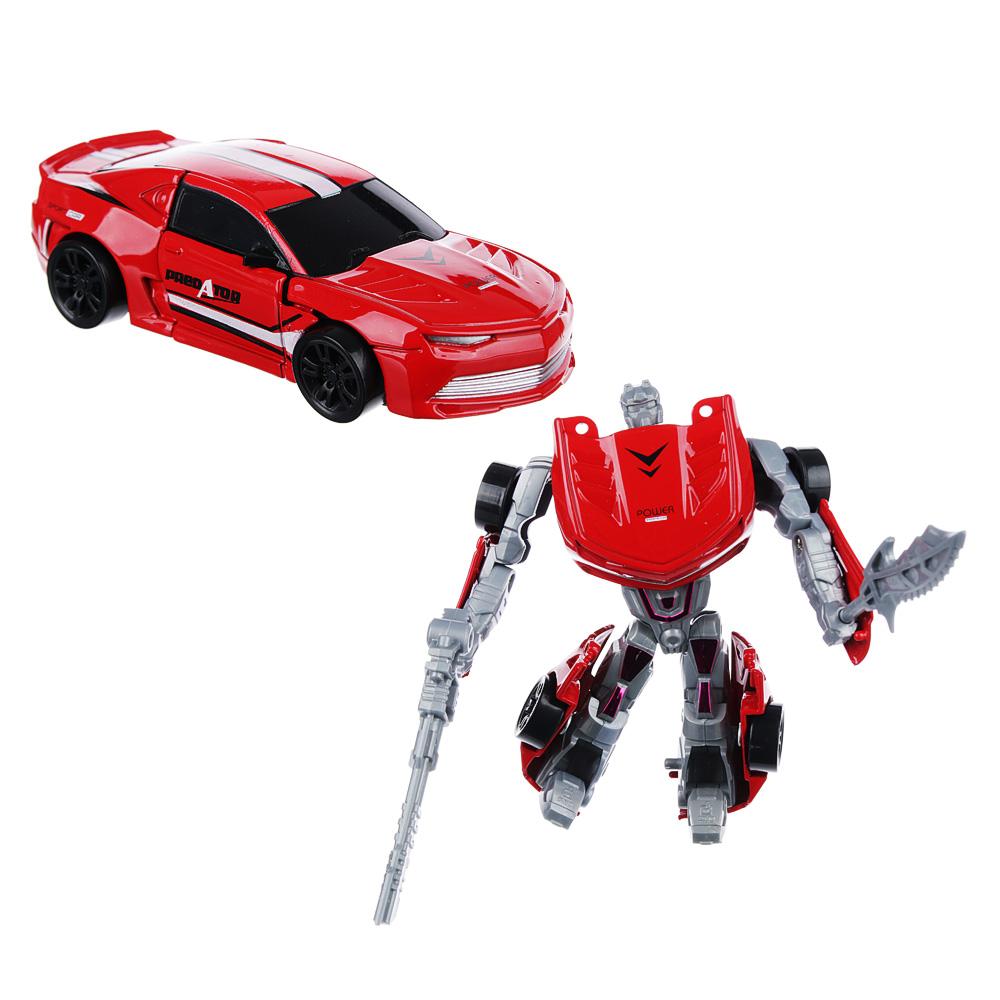 ИГРОЛЕНД Игрушка в виде Робота трансформирующегося, пластик, 12х16х3,5см, 4 дизайна - 2