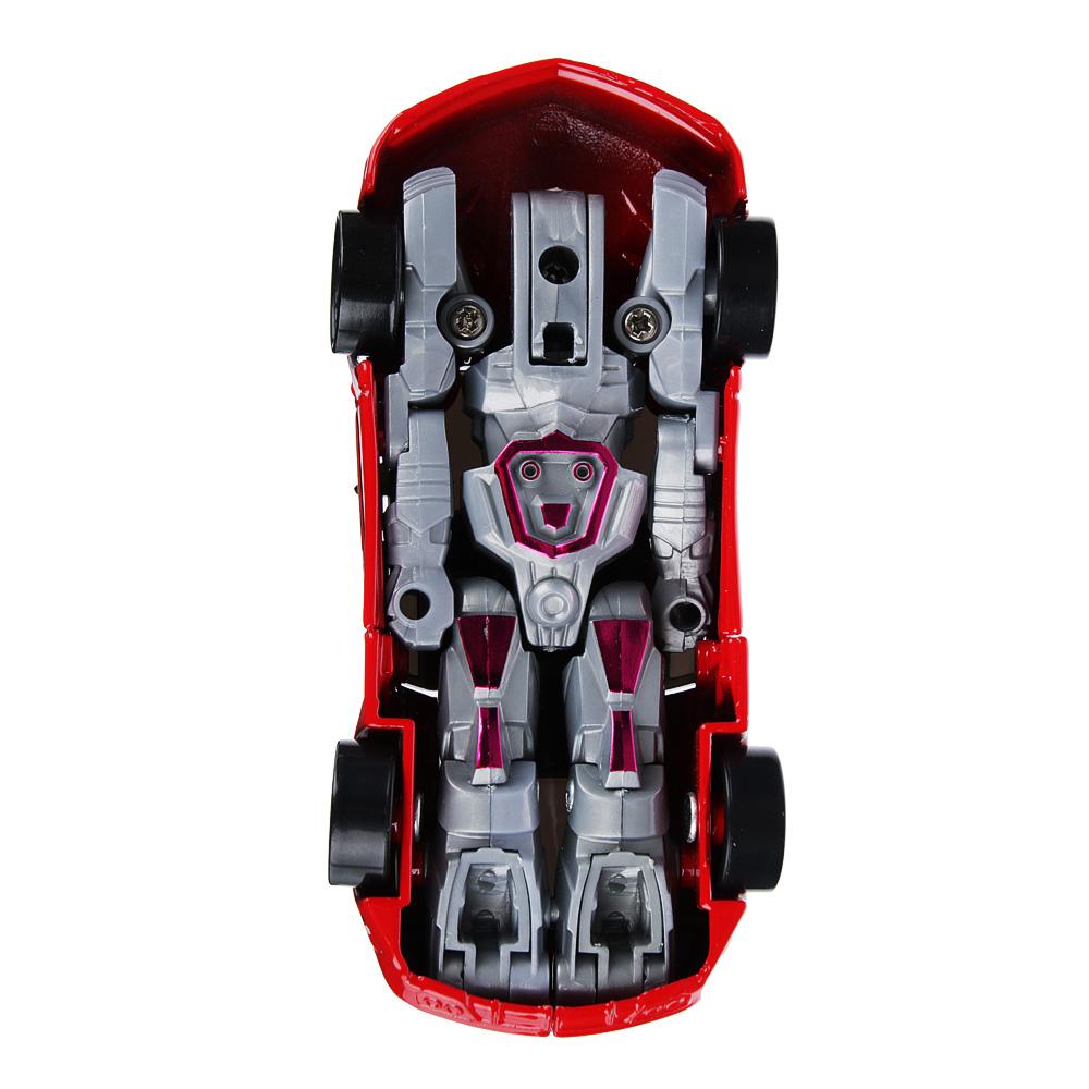 ИГРОЛЕНД Игрушка в виде Робота трансформирующегося, пластик, 12х16х3,5см, 4 дизайна - 3