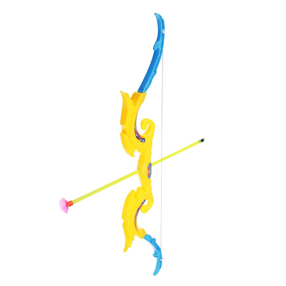 Набор игровой Оружие: Лук со стрелами, 6 пр., PP, PVC, 12х53х2см - 2