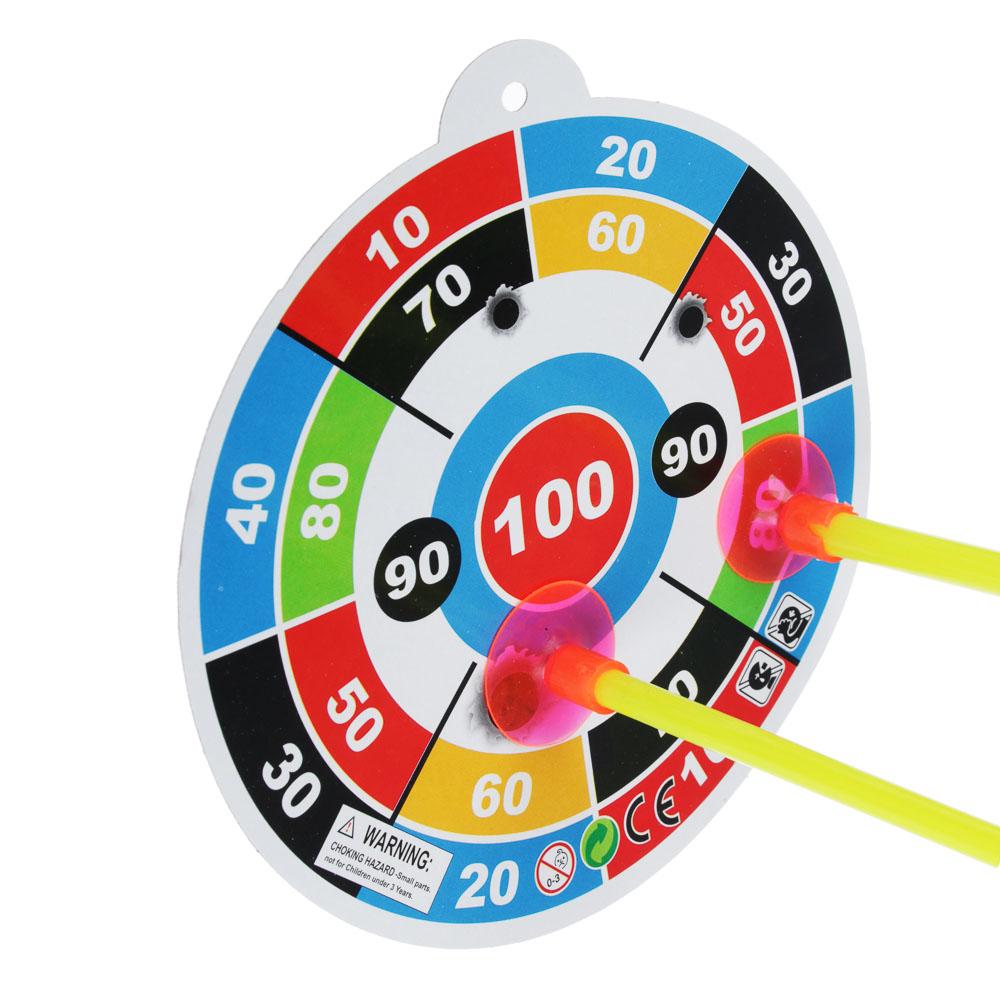 Набор игровой Оружие: Лук со стрелами, 6 пр., PP, PVC, 12х53х2см - 3