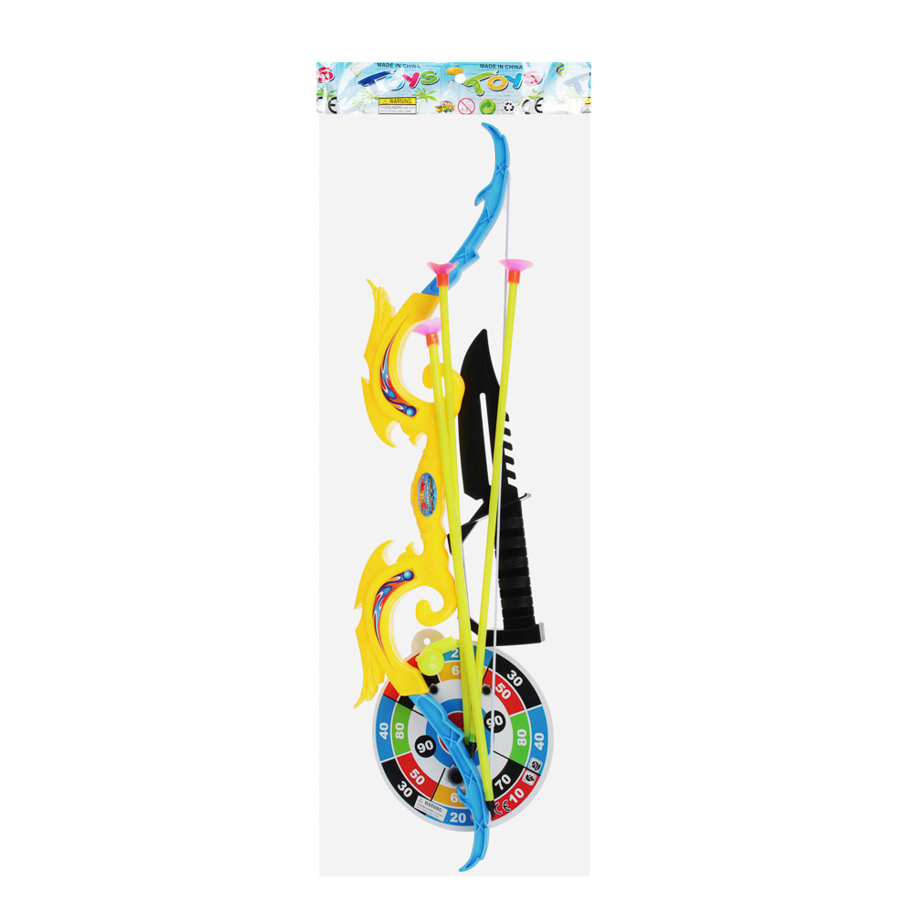 Набор игровой Оружие: Лук со стрелами, 6 пр., PP, PVC, 12х53х2см - 5