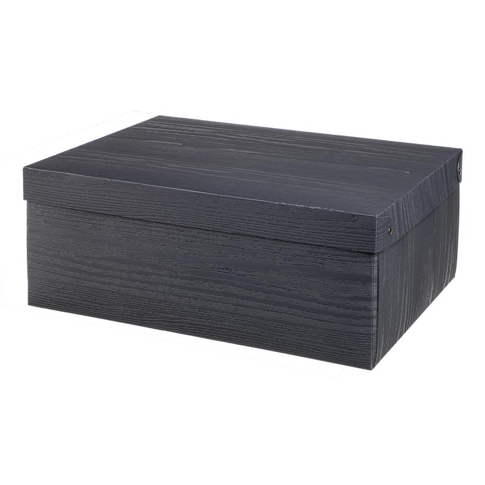 Короб для хранения складной с ручкой VETTA, 37,5х28х15 см, 3 дизайна, пластик - 3