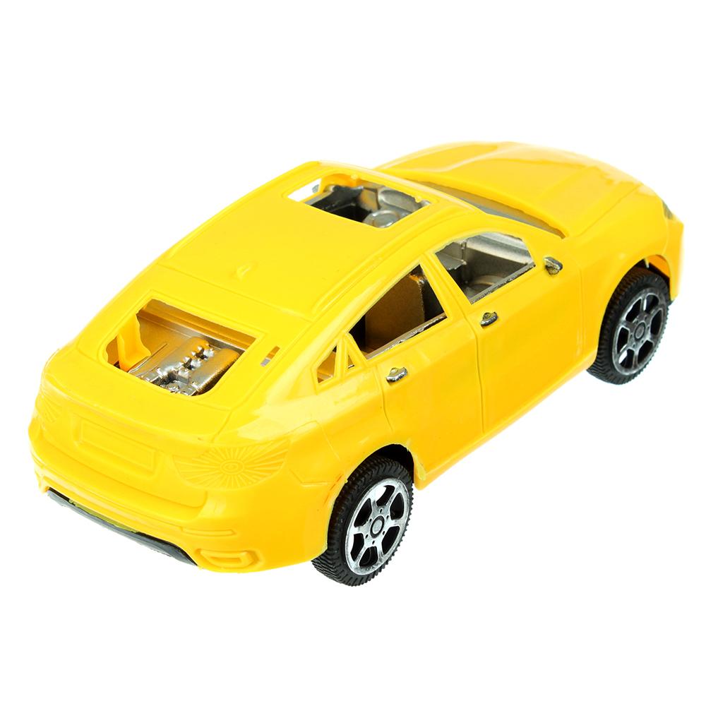 Машина Классическая, инерционная, пластик, 17х5х7см, 3 цвета - 3
