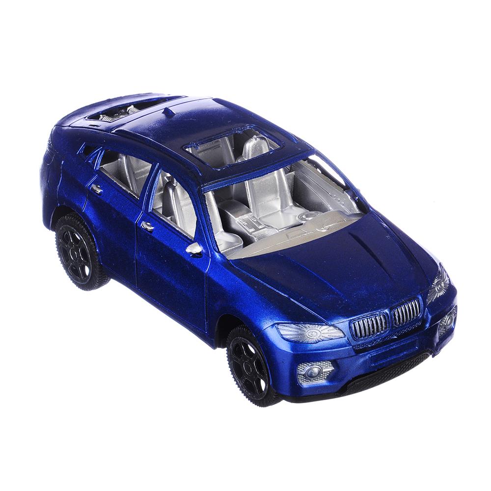 Машина Классическая, цв. металлик, инерционная, пластик, 17х5х7см, 3 цвета - 2