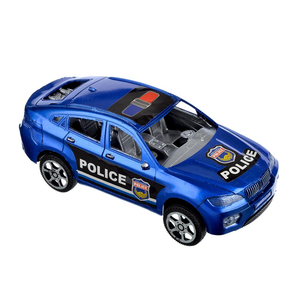 Машина Полискар, инерционная, пластик, 17х5х7см, 2 цвета - 2