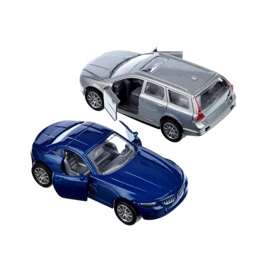 Машинка Городская 8см, металлическая, 8х2х3,5см, 4 дизайна - 2