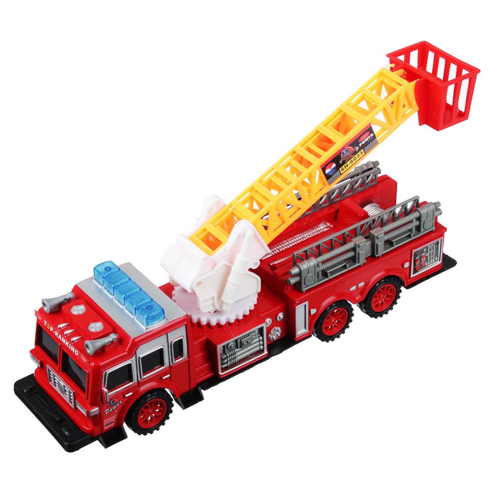 ИГРОЛЕНД Пожарная машина 32,5см, инерционная, PS, 33,5х9,3х8см - 2