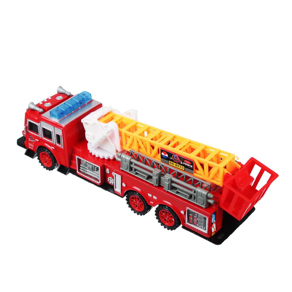 ИГРОЛЕНД Пожарная машина 32,5см, инерционная, PS, 33,5х9,3х8см - 3