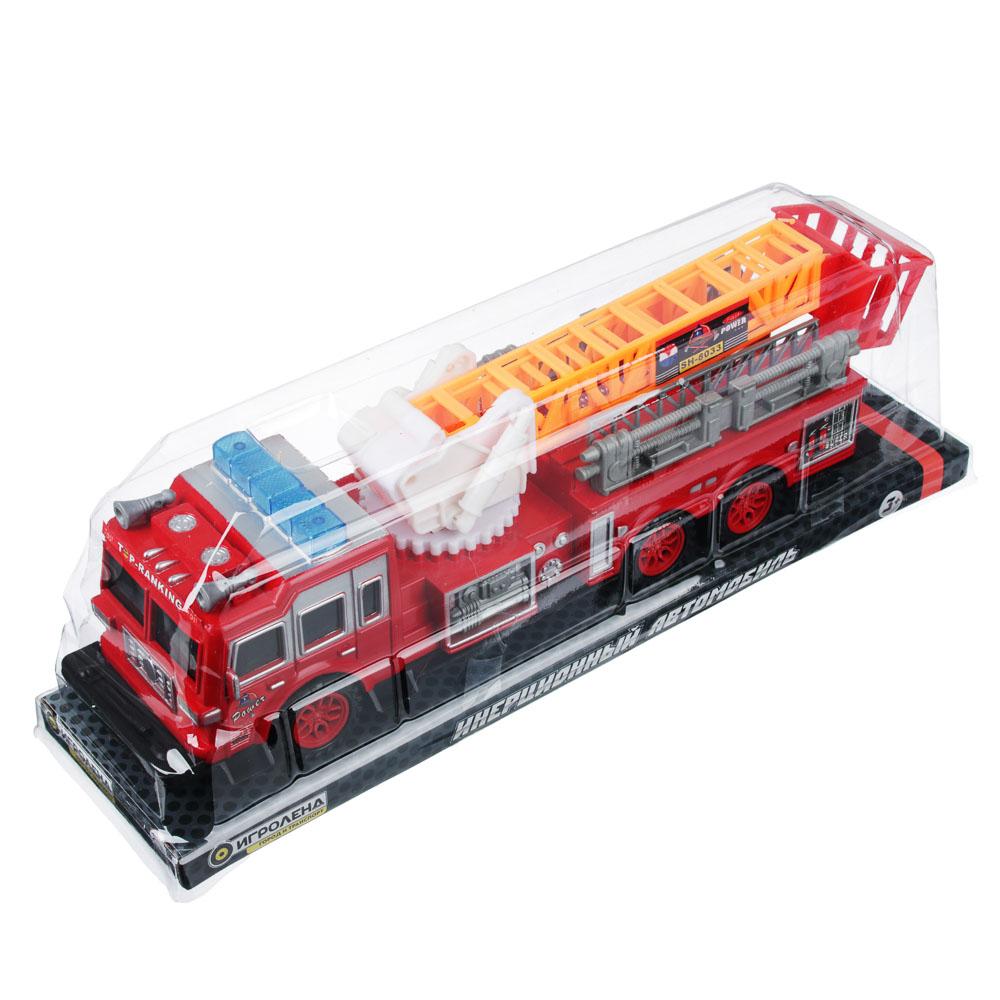ИГРОЛЕНД Пожарная машина 32,5см, инерционная, PS, 33,5х9,3х8см - 4