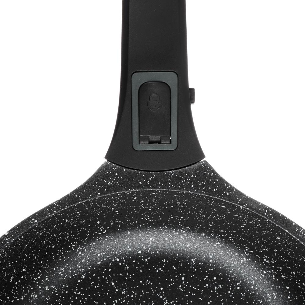 Сковорода литая  d. 24 см СЛАВЯНА Уран, антипригарное покрытие, индукция - 3