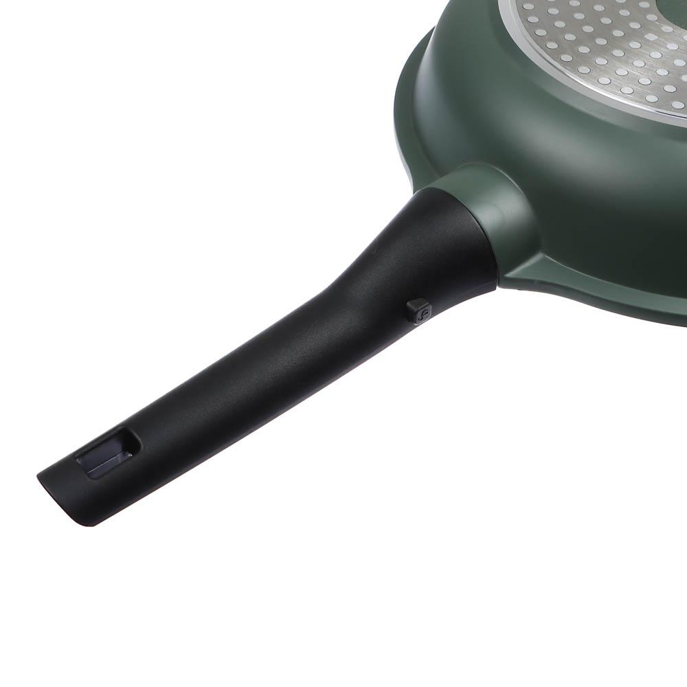 Сковорода литая  d. 26 см СЛАВЯНА Уран, антипригарное покрытие, индукция - 3