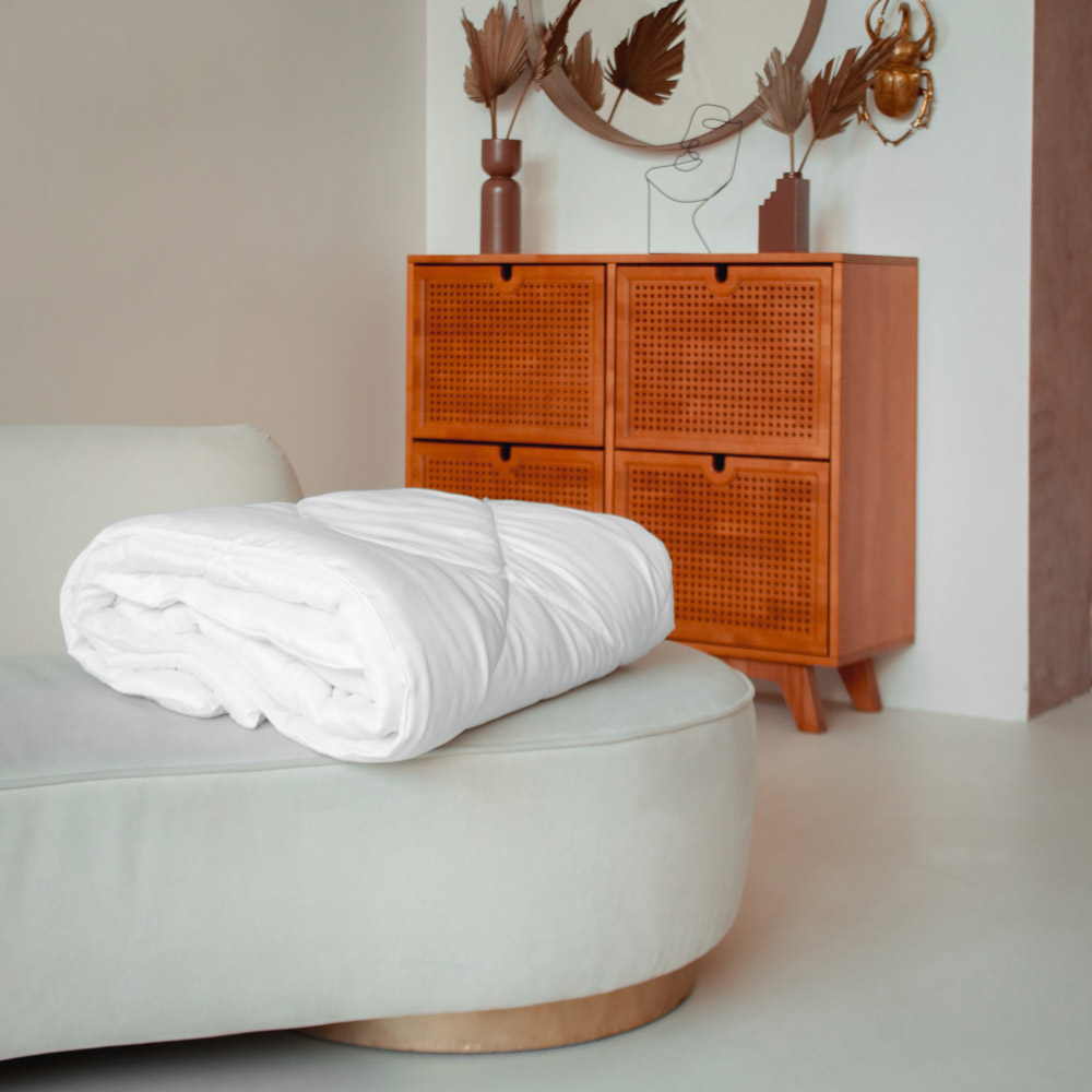 """Одеяло """"Лебяжий пух"""", стеганое, утепленное, 250гр/м, полиэстер, 172х205см - 3"""