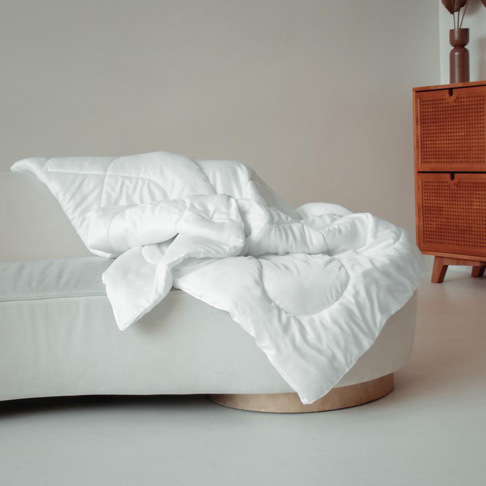 """Одеяло """"Лебяжий пух"""", стеганое, утепленное, 250гр/м, полиэстер, 172х205см - 5"""