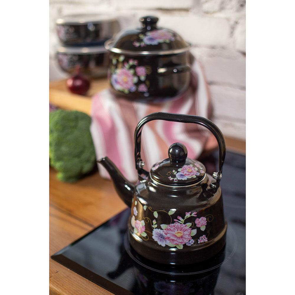 Чайник 1,7 л VETTA Иллюзия, эмалированный, индукция - 4