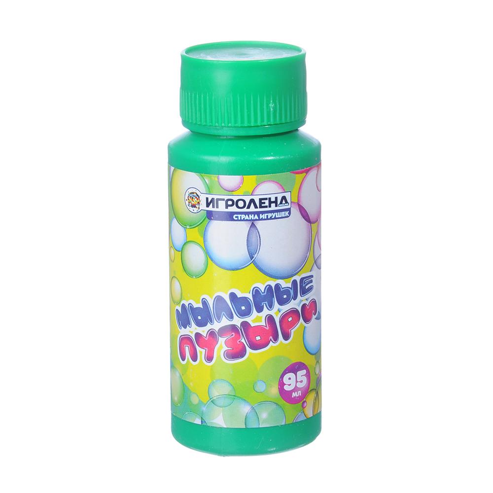 ИГРОЛЕНД Мыльные пузыри, 95мл, мыльный раствор, пластик - 2