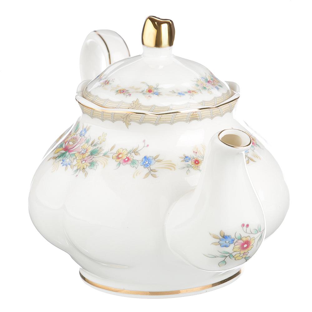 """Чайник заварочный, костяной фарфор, 1000  мл, MILLIMI """"Версаль"""" - 2"""