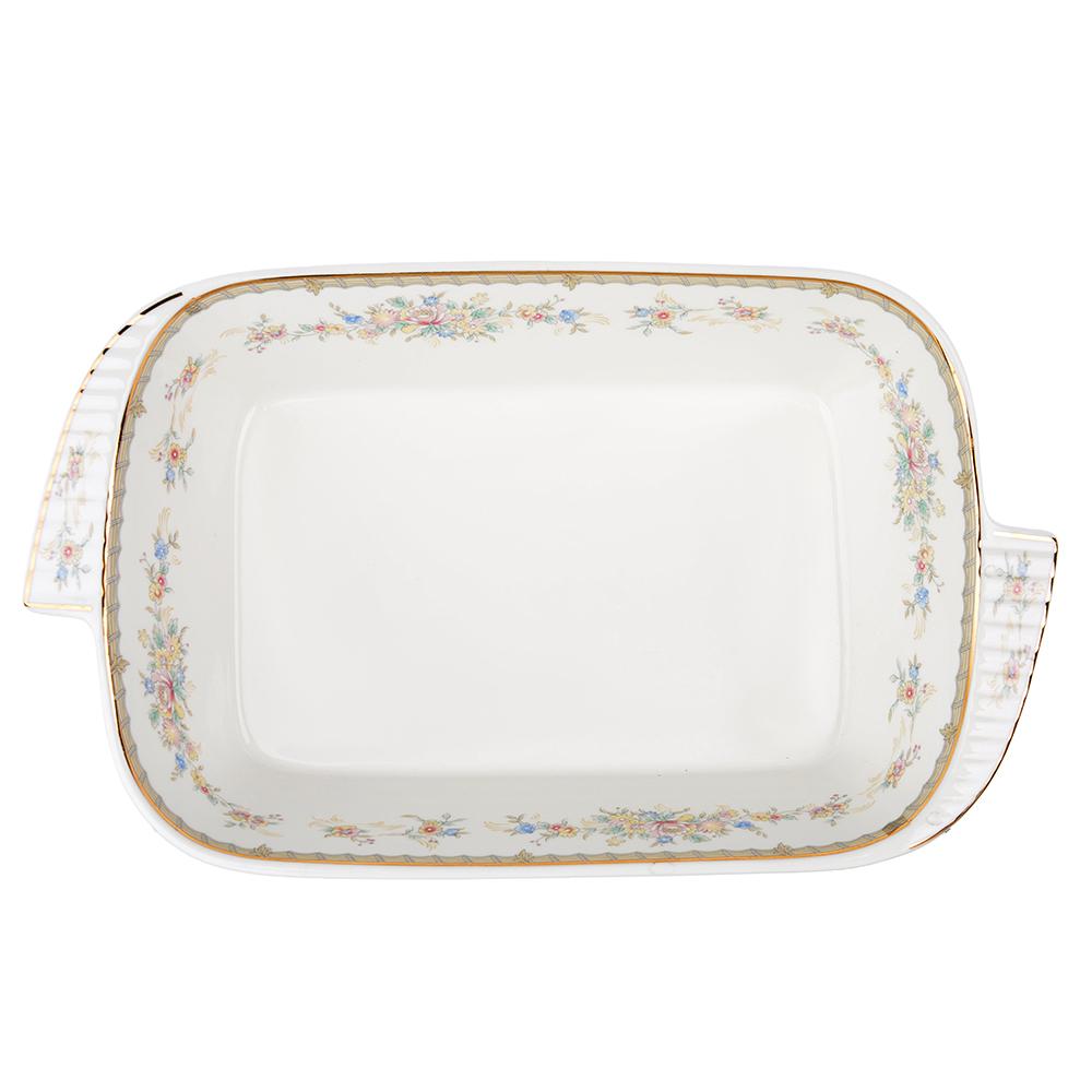 MILLIMI Версаль Форма для запекания и многослойных салатов, 28х17х5см, костяной фарфор - 2