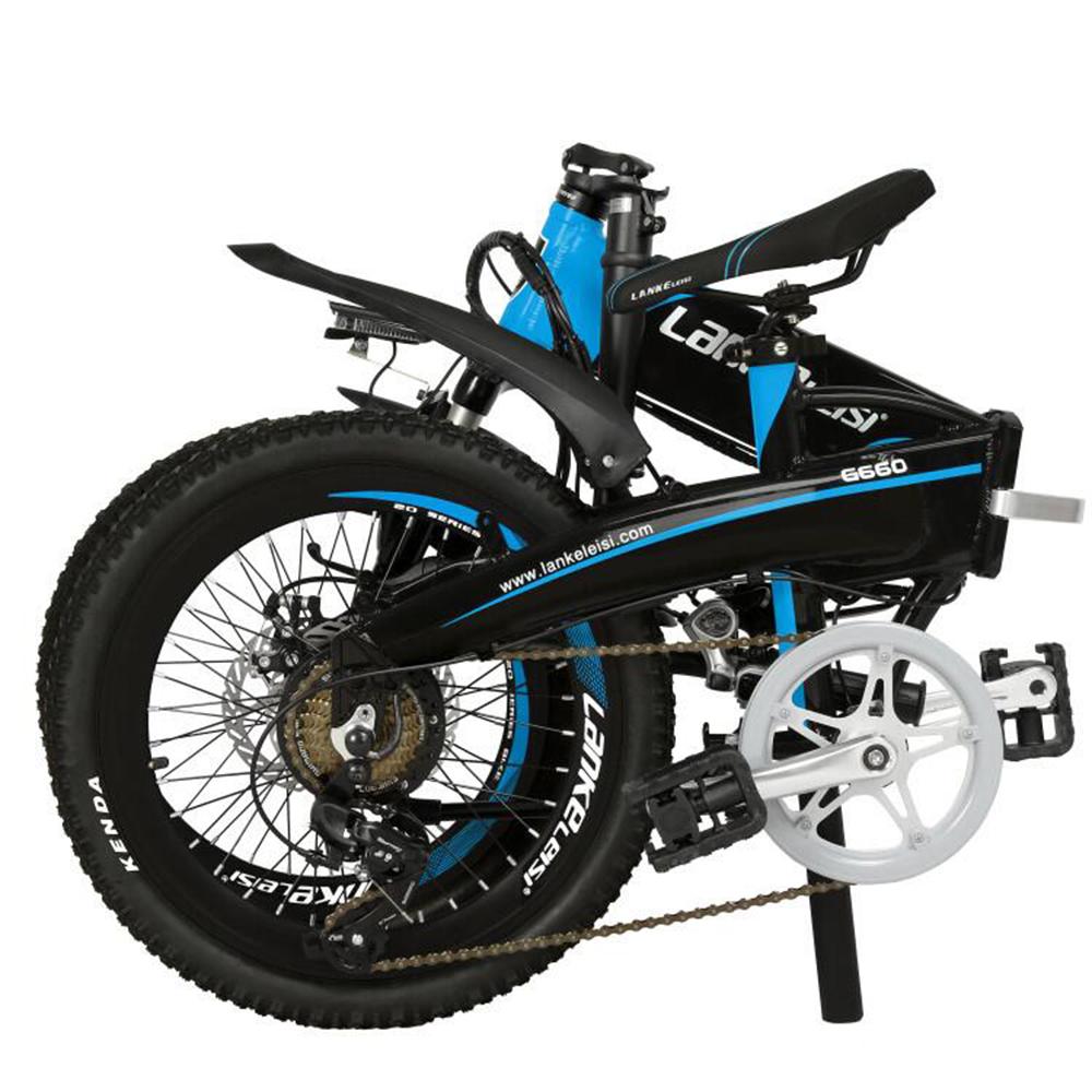 LANKE LEISI Велогибрид G660, 20 дюймов, 157х110 см, акк. 48V10A - 3