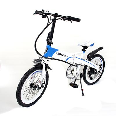 LANKE LEISI Велогибрид G660, 20 дюймов, 157х110 см, акк. 48V10A - 4