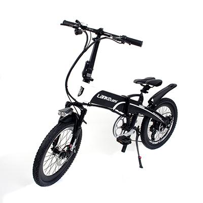 LANKE LEISI Велогибрид G660, 20 дюймов, 157х110 см, акк. 48V10A - 5