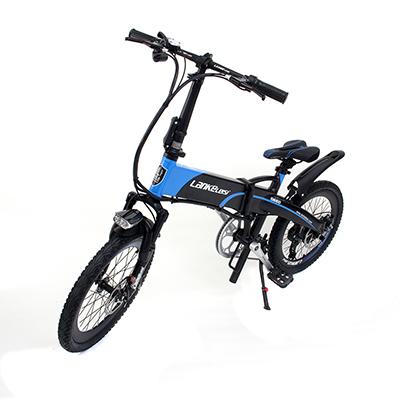 LANKE LEISI Велогибрид G660, 20 дюймов, 157х110 см, акк. 48V10A - 6