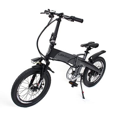 LANKE LEISI Велогибрид G660, 20 дюймов, 157х110 см, акк. 48V10A - 7